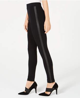 Alfani Tuxedo-Stripe Legging Pants, Created for Macy's