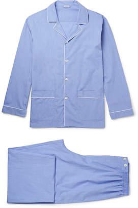Zimmerli Mercerised Cotton Pyjama Set