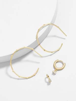 BaubleBar Anella 18K Gold Plated Earring Set