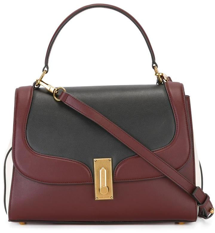 Marc Jacobs Marc Jacobs tricolour West End Top Handle II tote