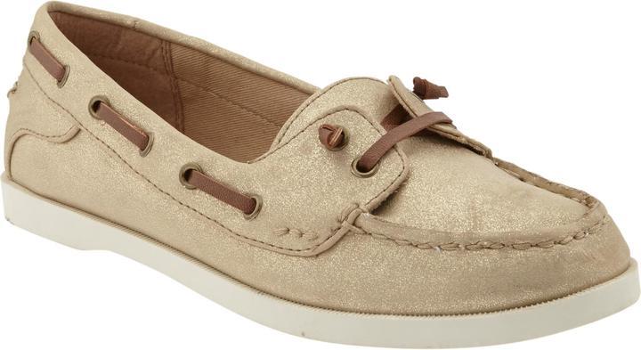 Old Navy Women's Metallic-Finish Boat Shoes