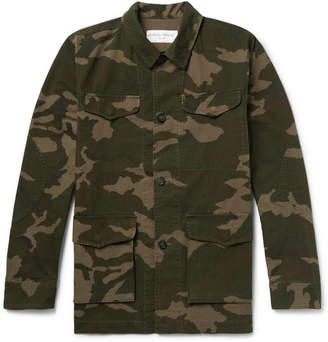 b2e888e6 Officine Generale Camouflage-Print Cotton And Nylon-Blend Ripstop Jacket