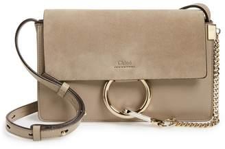 Chloé Small Faye Leather Shoulder Bag
