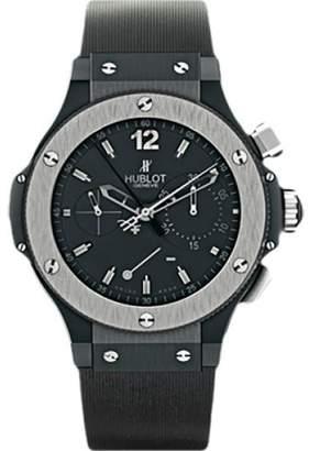 Hublot Big Bang Black Ceramic & Rubber with Black Dial 44mm Mens Watch