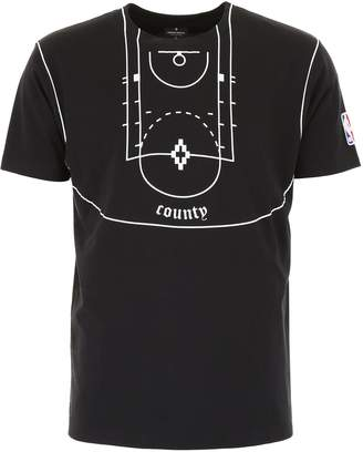 Marcelo Burlon County of Milan Nba Printed T-shirt