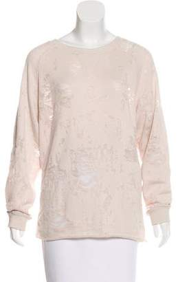 IRO Gareth Distressed Sweatshirt