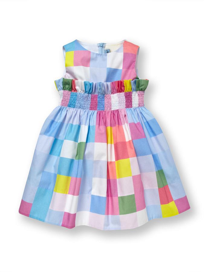 Simonetta Check Dress