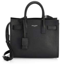 Saint Laurent Nano Grained Leather Sac De Jour