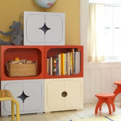 Stella Stackable Storage Cube Circle