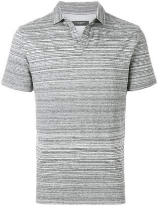 Paolo Pecora casual striped polo shirt