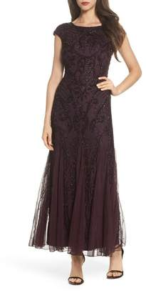 Pisarro Nights Embellished A-Line Gown