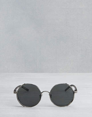 Belstaff Trophy Round Sunglasses