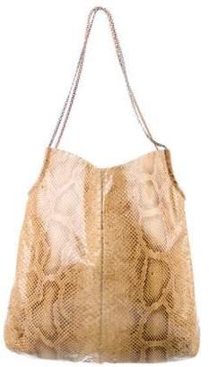 Judith Leiber Python Chain-Link Shoulder Bag