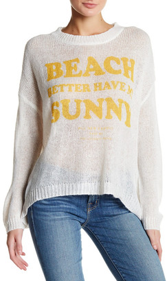 The Laundry Room Beach Bummies Sweater $128 thestylecure.com