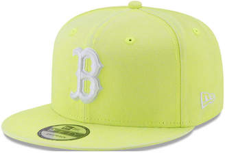 New Era Boston Red Sox Neon Time 9FIFTY Snapback Cap