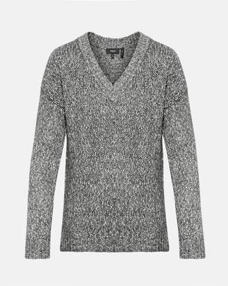 Theory Slouchy V-Neck Pullover