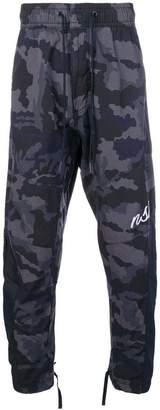 Nike camo sports trousers
