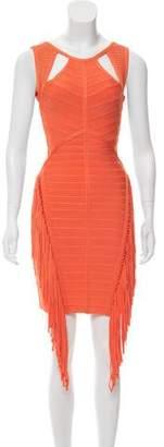 Herve Leger Venus Bandage Dress