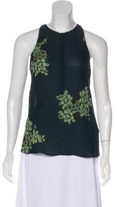A.L.C. Silk Sleeveless Top