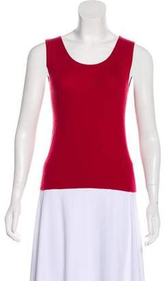Malo Sleeveless Cashmere Top