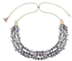 lonna & lilly Multi-Row Beaded Necklace