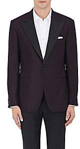 Sartorio SARTORIO MEN'S PG WOOL ONE-BUTTON TUXEDO JACKET - WINE SIZE 44 R