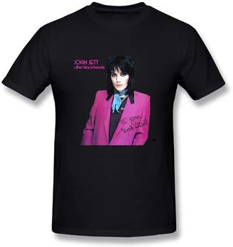 N. Pauline D. McIntyre PaulineDM Joan Jett & The hearts I Love Rock Roll Men's Fashion T-Shirts M