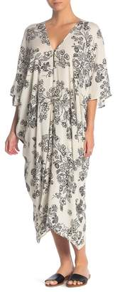 Dress Forum Floral Midi Cover-Up