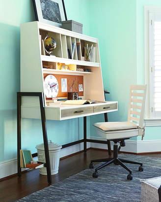 Morgan Swivel Desk Chair with Storage