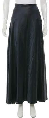 Calvin Klein Collection Silk-Blend Maxi Skirt