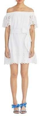 Rachel Roy Cotton Mini A-line Dress
