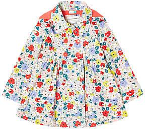 John Lewis Girls' Floral Raincoat, Multi