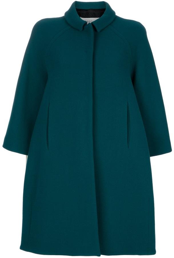 Gianluca Capannolo Wool coat cape