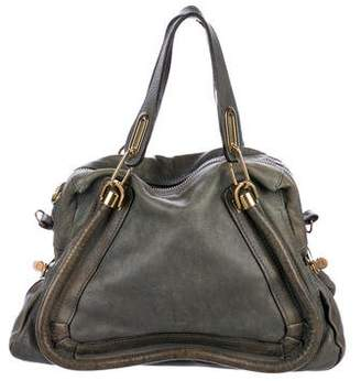 Chloé Leather Paraty Satchel
