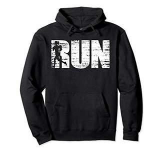 Distressed runners running hoodie for joggers