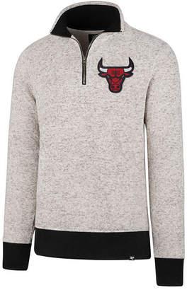 '47 Men's Chicago Bulls Kodiak Tonal Quarter-Zip Pullover