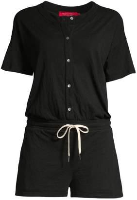 n:philanthropy Finn Buttoned Shirt Romper