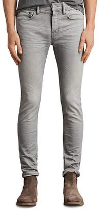 AllSaints Ghoul Cigarette Slim Fit Jeans in Gray