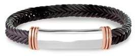 Effy Gento Leather and Sterling Silver Bracelet
