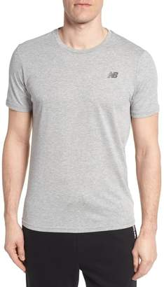 New Balance Heather Tech Crewneck T-Shirt