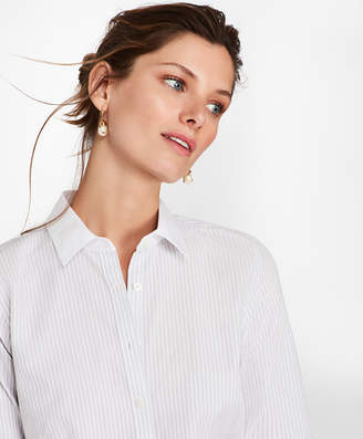 Brooks Brothers Bengal Stripe Cotton Fitted Shirt