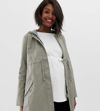 Mama Licious Mama.Licious Mamalicious maternity parka jacket