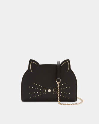 Ted Baker KIRSTIE Cross body leather cat bag