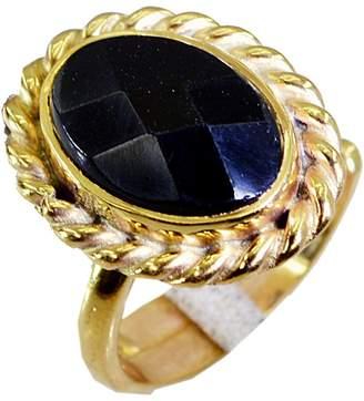 Marvelous! Riyo marvelous onyx Copper Ring handmade L-1in CA 7