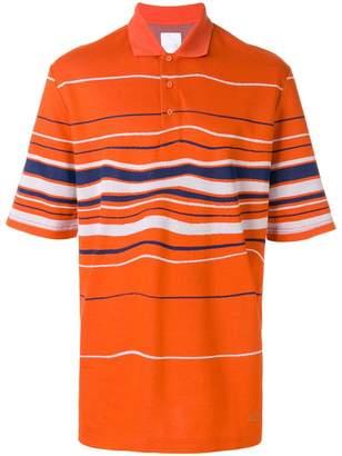 Martine Rose Napa By striped polo shirt