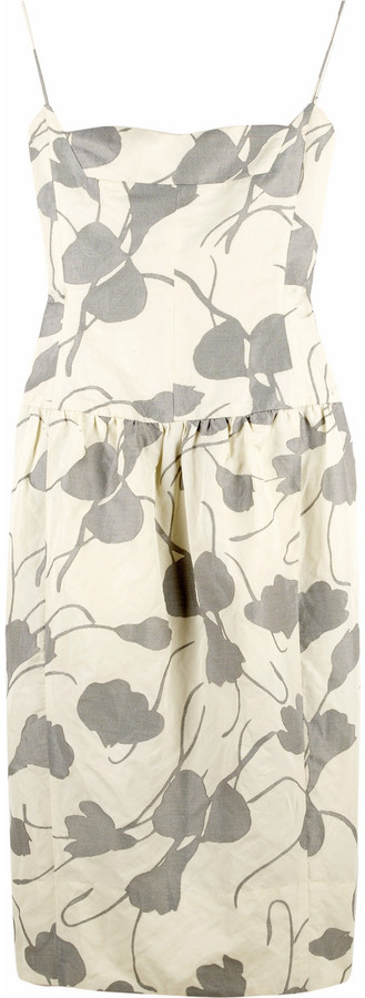 Narciso Rodriguez Floral cotton sundress