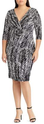 Lauren Ralph Lauren Zebra Twigs Sheath Dress