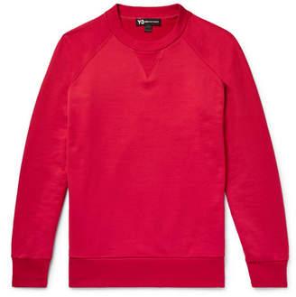 Y-3 Printed Loopback Cotton-Jersey Sweatshirt