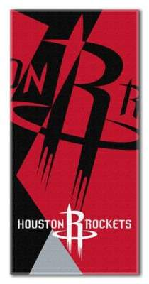 NBA Houston Rockets 34-Inch x 72-Inch Beach Towel