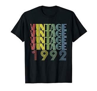 Retro Vintage 1992 T Shirt 26th Birthday Vintage Shirt